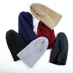 53fac1a1535 Hand Made Cashmere Hat Khika Gray Women Winter Hat