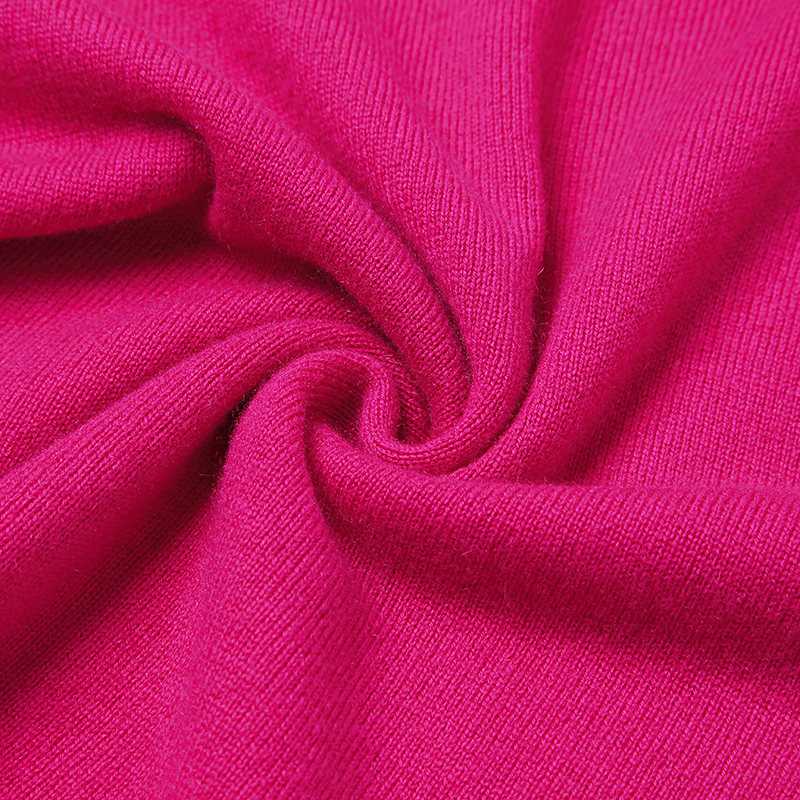 100 Cashmere Sweater Women High Quality Pure Cashmere Long Rose Sweaters Winter Pullover Lady Warm Soft Solid Natural Fabric