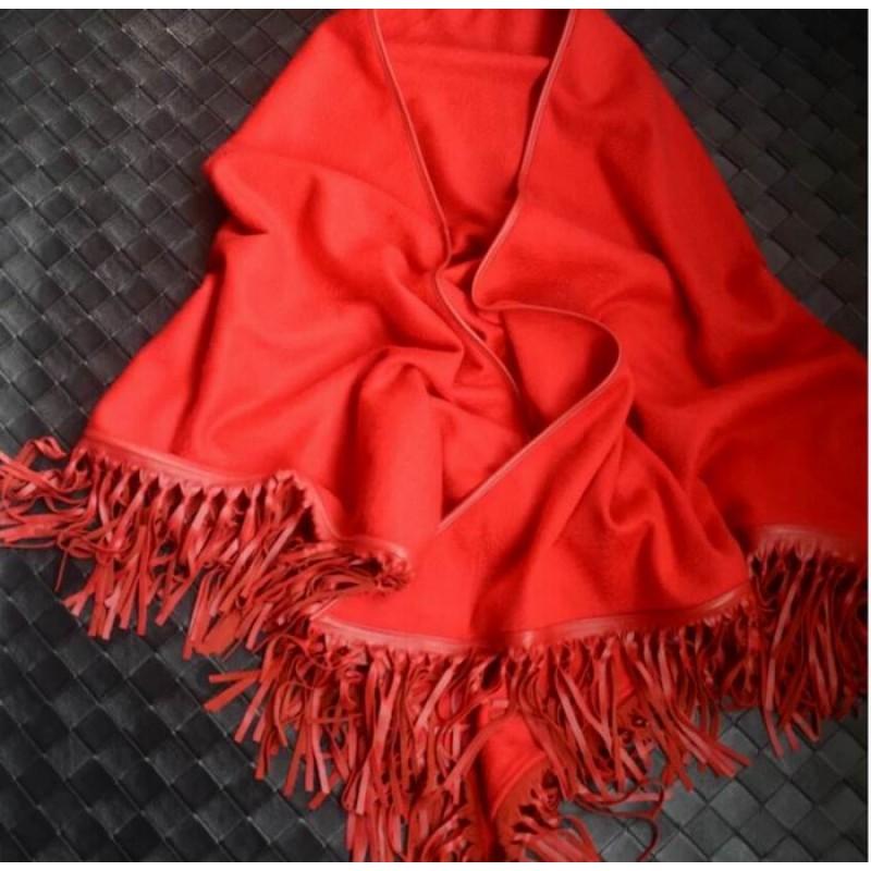 Pure Cashmere Scarves Black Plaid Women Fashional Winter Scarf