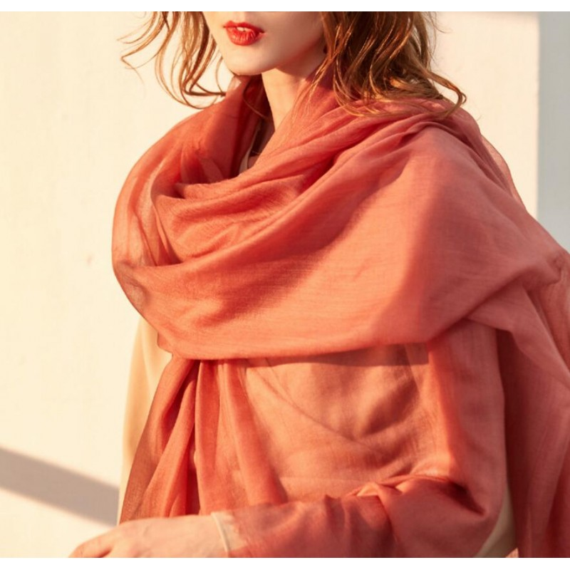 Bogeda New Winter 100%Cashmere Scarf Women 300s Worsted Yarn Extra Thin Pashmina Lady High Quality Free Shipping