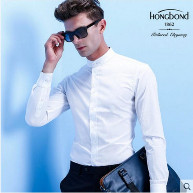 Pure Cotton Shirt White Formal Men Customize Shirt