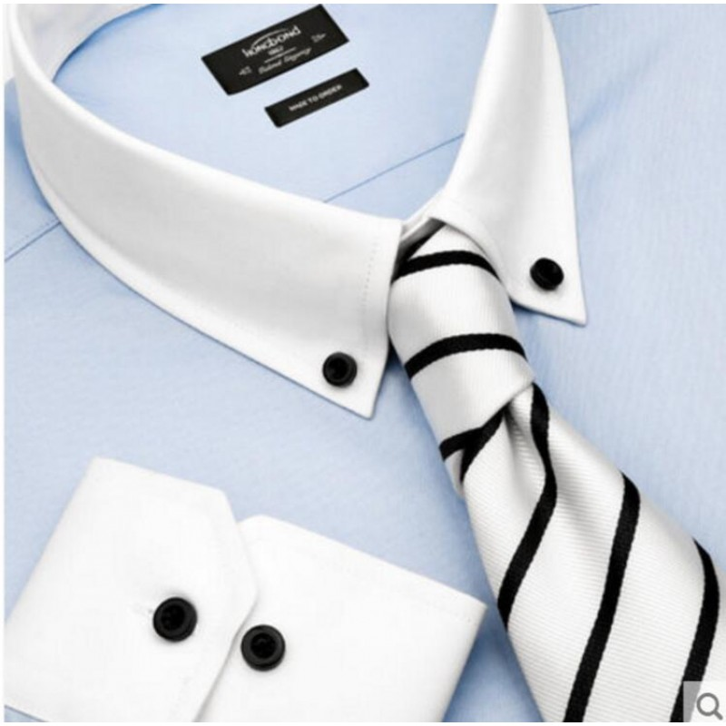 Pure Cotton Shirt Light Blue Men Customize Shirt