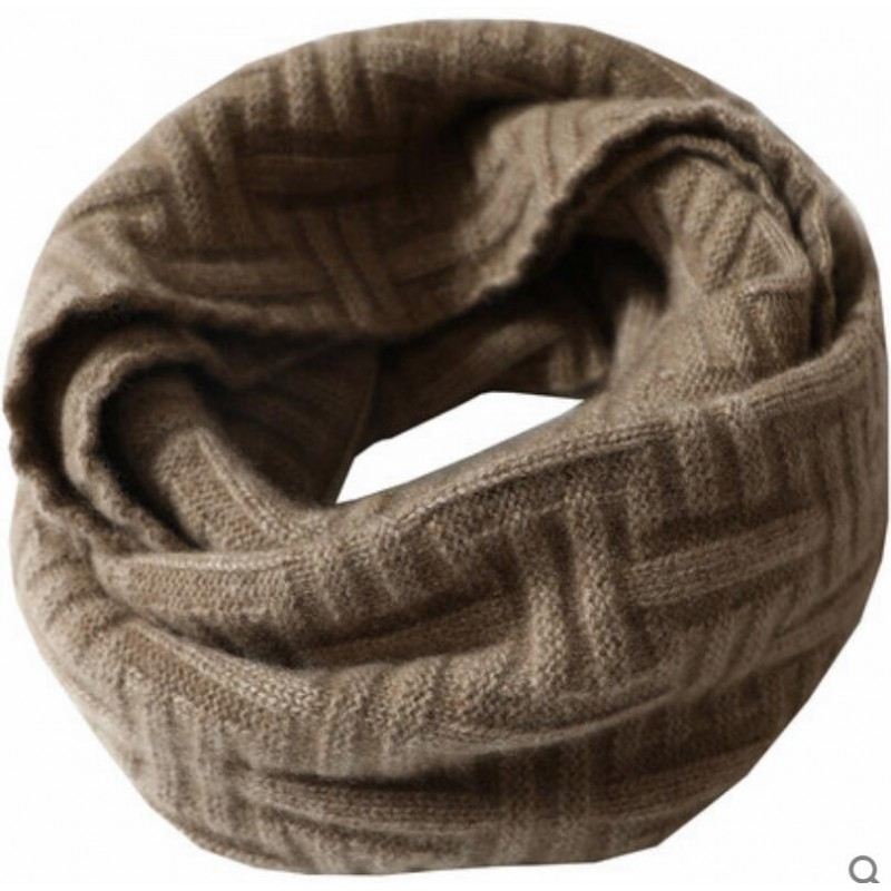 100%Cashmere Scarf Women Men Solid Color Warm Winter Scarfs Wine