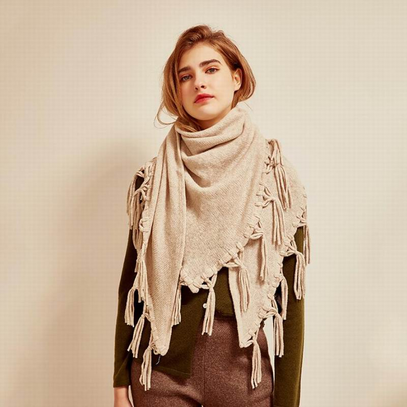 Bogeda New Winter Wool Scarf Women High Quality Fashion Triangle Scarfs Extra Pashmina Lady Gift Free Shipping