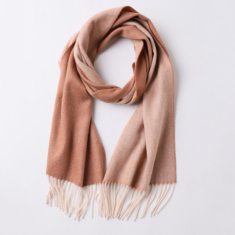 Cashmere Scarf High Quality Small Size Double Sides Color Cashmere Scarf Women Luxury Brand Shawl Lady Free Shipping