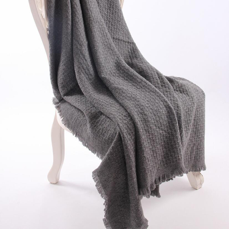 Wool Scarf Winter Woman High Quality Color Gray Big Size Wool Scarf Shawls Women Free Shipping