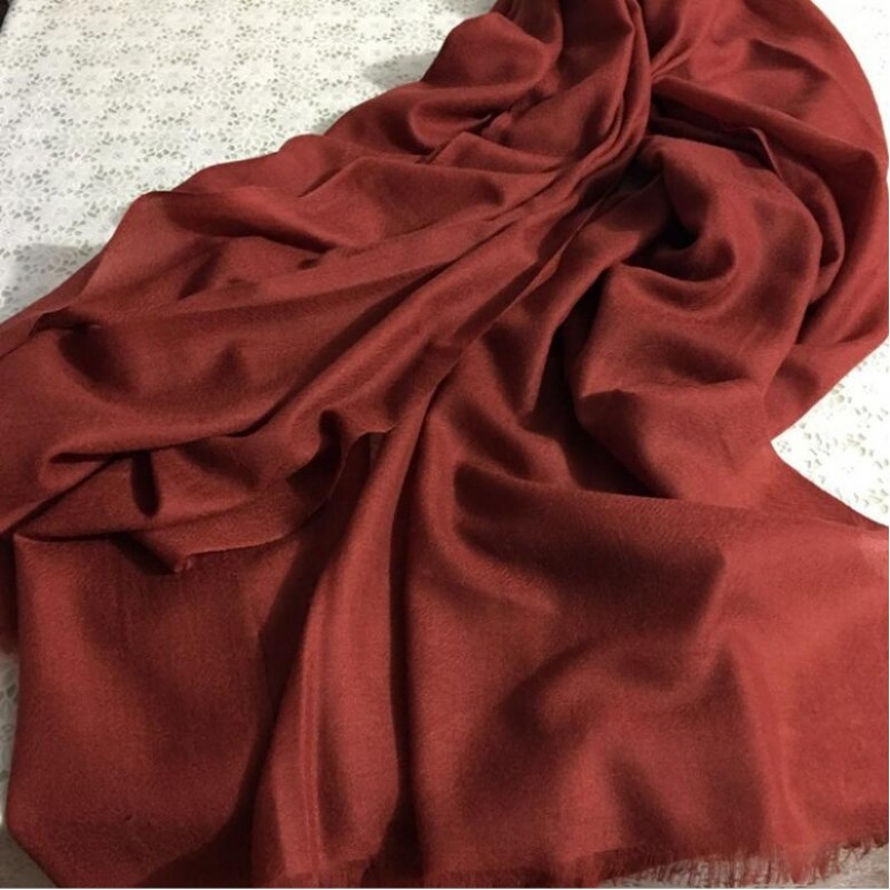 Pure Cashmere Scarves Gray Women Fashional Winter Scarf