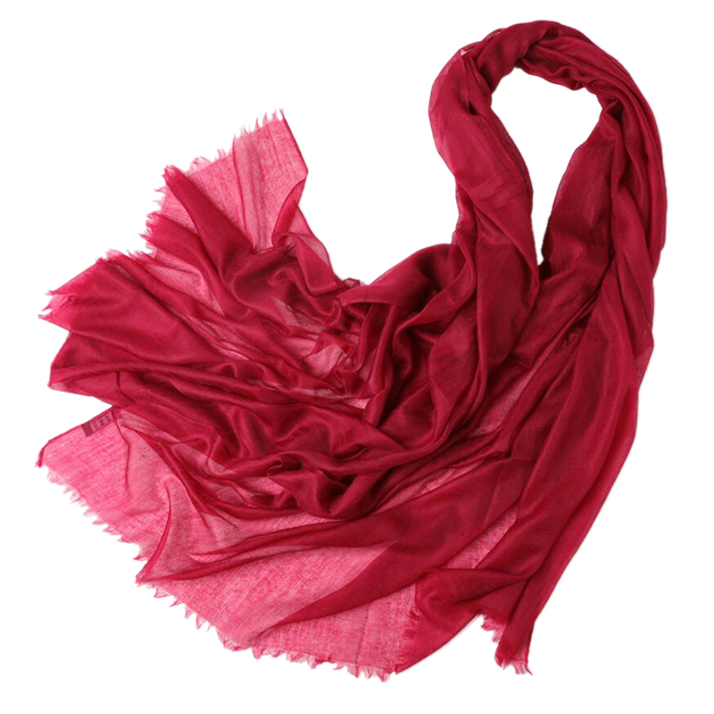 300s Yarn Thin Cashmere Scarf Women Pashmina Fashion Pure Cashmere Shawl Red High Quality Free Shipping