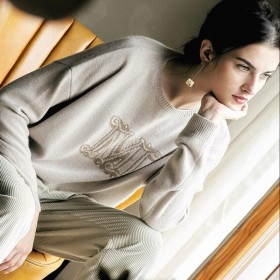 100%Cashmere Sweater Pullover O-neck Lady Winter Khaki Beige Sweaters Girl WHOLESALE ONLY